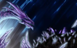Purple Dragon by Silinde-Ar-Feiniel