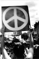 We want peace by Ocanchi