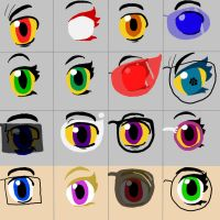 Homestuck Eyes by stringbean13