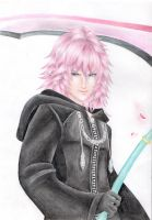 Marluxia drawing by PapouJunkie