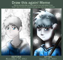 Draw this again ! - Jack Frost by JackFrostOverland