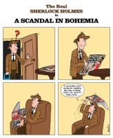 The real Sherlock Holmes - A scandal in Bohemia by marcobrunez