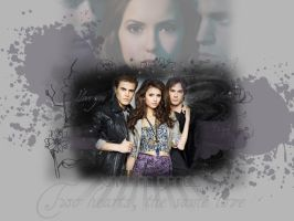 Vampire Diaries Wallpaper by masquerade-lady
