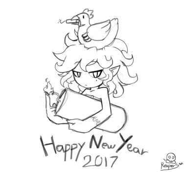 Happy New Year 2017 by Reapers969