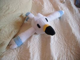 wingull Pokemon plushie by Plush-Lore