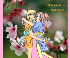 Thank you - NaruSaku by Sakuya-Masamune