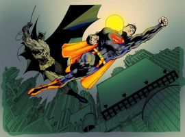Superman batman by richy28