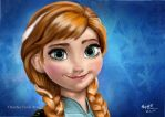 Princess Anna by Ultraviolet707