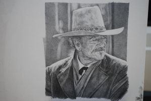 John Wayne by graphartist64