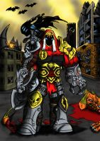 War (Darksiders) by ComandanteBrasco