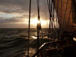 December Sailing by Venedon