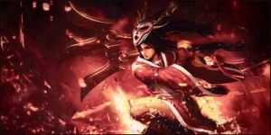 League of legends - Akali Signature by Snopex