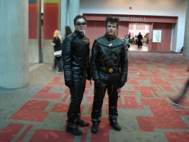 Cyclops and Wolverine Fanime08 by otakuukato