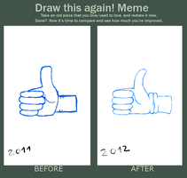 Draw this again Meme by Master-0f-Puppets