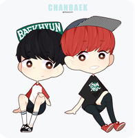 ChanBaek by tokban