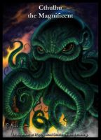Cthulhu the Magnificent by monstah