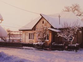 Cozy in Winterland by georgiana-harangi