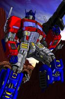 Optimus Prime Coloring by The-Solidstrike