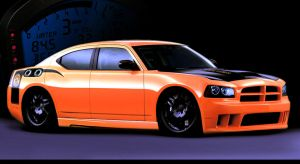 Charger-SRT8-tooned by bravo12 by bravo12v