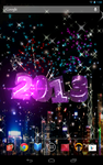 Android Live Wallpaper New Year Pink by graphicated-cologne