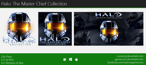 Halo: The Master Chief Collection - Icon by Crussong