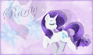 Rarity Wallpaper by JimmaB