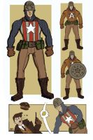 Captain America Redesign 3 by genesischant