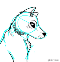 Wolf animation by FearFurr