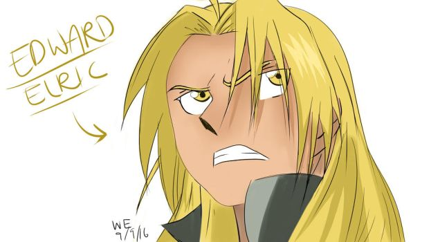 Edward Elric fanart by grace-ern