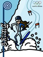 Olympics 2006: Skiing by AJD08