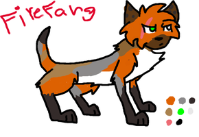 Firefang by WingedWarrior13