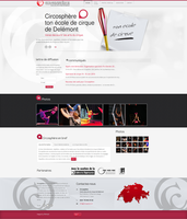 Website circosphere.ch by 8temps