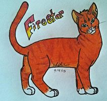 Firestar by xWolfObsessionx