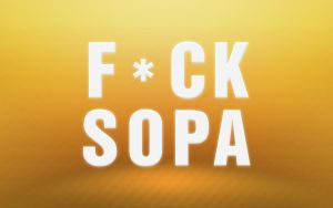 Fuck SOPA Summer Theme by Snakesan