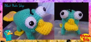 Perry the platypus by Eriamyv