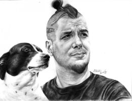 Phil Anselmo and Dog by drinkemalll