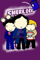 Sherlock and... Friends? by ExtremlySelfishChild