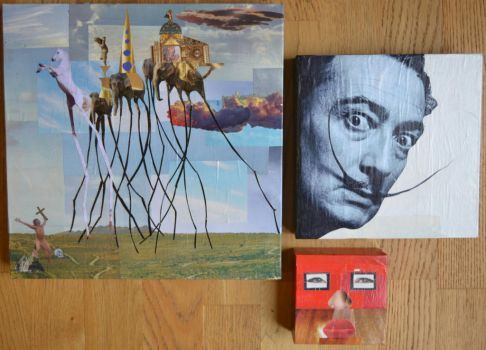 REPRODUCTION DALI by FredGlossyPaper