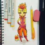 Flame Prince by cheese-cake-panda