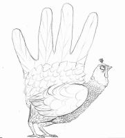 Hand Turkey by ghostedone