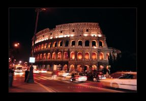 Colosseum - Night by Saher4ever