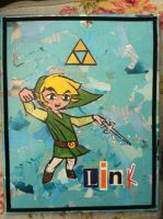 Collage of Wind Waker by Cadenzaa