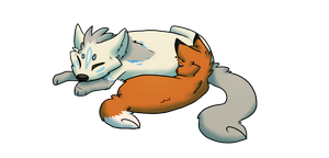 i like to draw sleeping things by Fluff-butts
