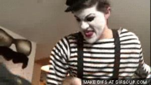 Mime Fail: Cereal Killer GIF by SmoshyArt
