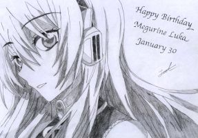 Happy Birthday Luka by Jak656