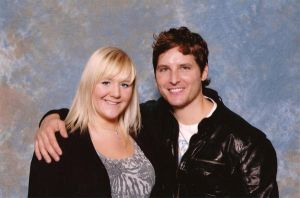 Me  and Peter Facinelli by bleugirl