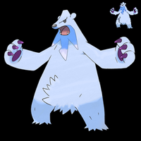 Pokemon 5G Shiny Beartic by etherspear