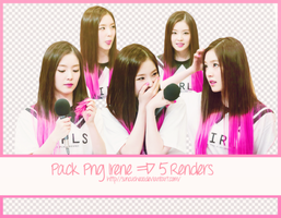 Pack Png Irene Red Velvet  #13 ~ 5 Render by Suncucheoo