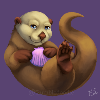 Otter Charm Online by Bumbledoodle