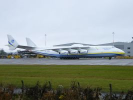 Antonov An225 at EMA by captainflynn